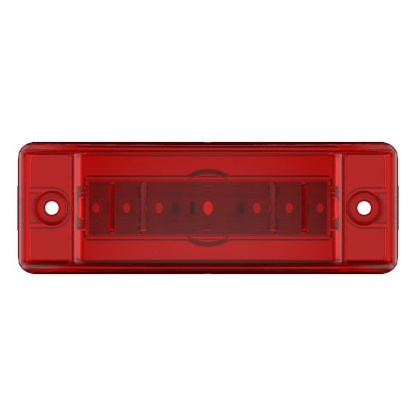 49392 Red LED Clearance Marker Light with Optic Lens - 360