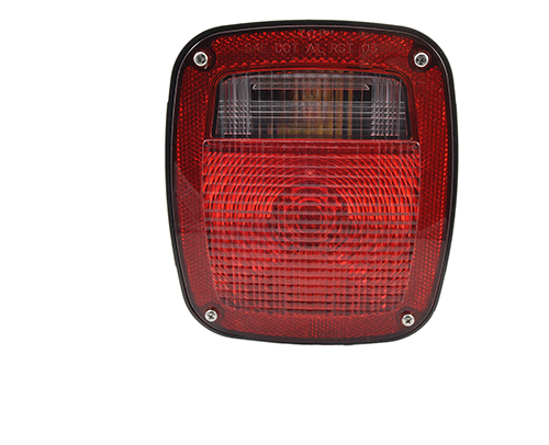torsion mount two stud mack dodge stop tail turn light red - 360
