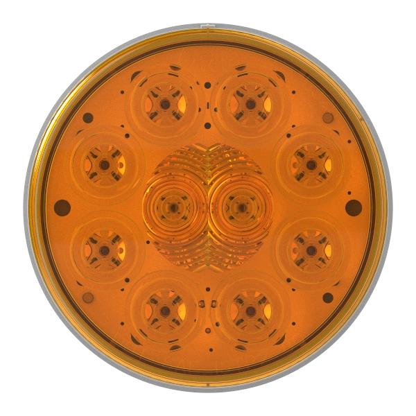 """Luz LED de frenado/trasera/direccional, 10 diodos y 4"""" - 360"""