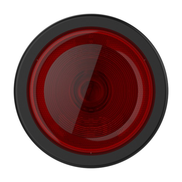 """torsion mount II 4"""" stop tail turn built in reflector red kit - 360"""