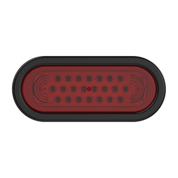 supernova oval led stop tail turn red kit - 360