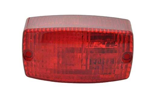 rectangular surface mount turn light red - 360