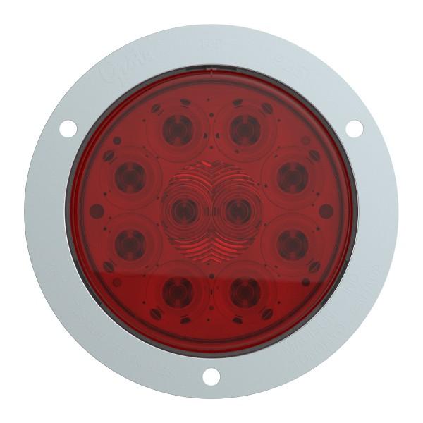 """Luz LED de frenado/trasera /direccional SuperNova®, 10 diodos y 4"""", Juego rojo - 360"""