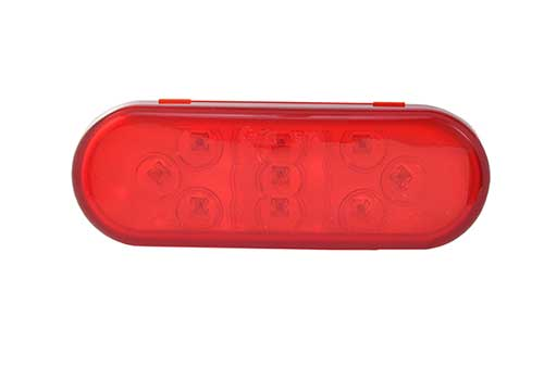 9-Diode Oval LED Stop Tail Turn Light - 360