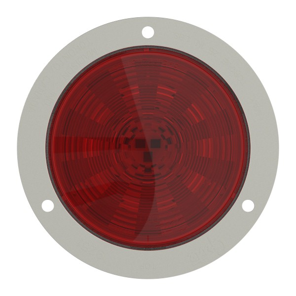 Grote 54492 SuperNova 4 NexGen LED Stop Tail Turn Light Stainless Steel Flange, Male Pin