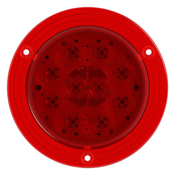 """4"""" LED Stop Tail Turn Light with Integrated Flange - 360"""