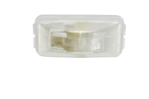 small rectangular utility light clear - 360
