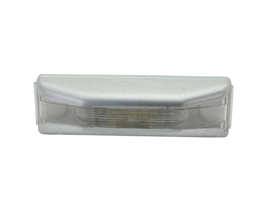 rectangular license light clear - 360