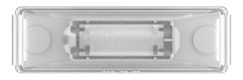 rectangular utility light led clear - 360
