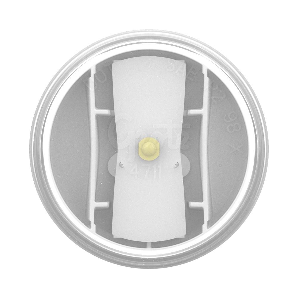 feu d'accueil intérieur à DEL de 2 po, blanc - 360