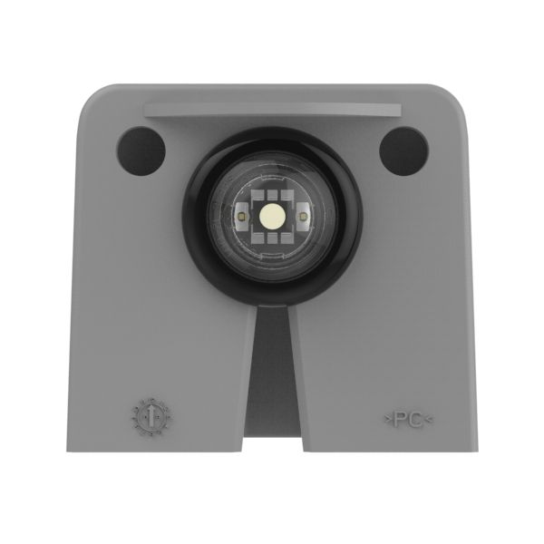 vertical mount MicroNova dot LED license light assembly - 360