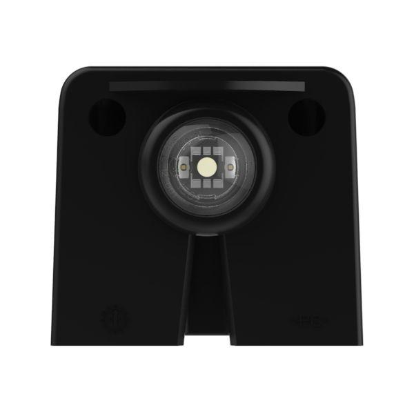 Vertical mount MicroNova dot LED license lamp - 360