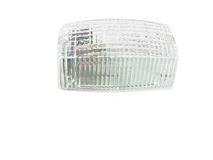 Dome Light with Switch, Clear, Retail Pack - 360