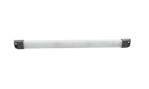 "LED SlimWhite 18"" Frosted Light With Switch - 360"