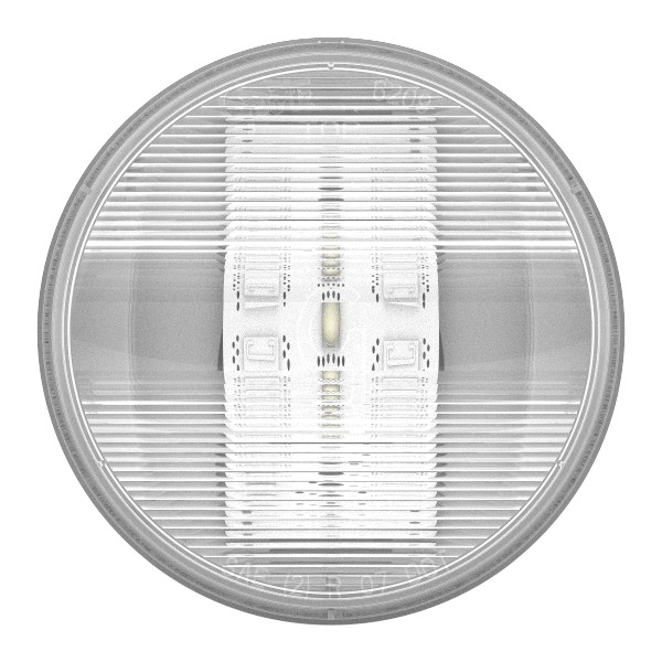 "Runde 4"" Dual-System-LED-Rückfahrleuchte - 360"