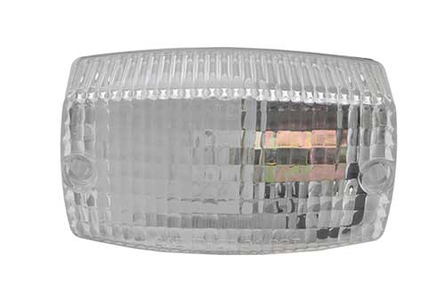 rectangular surface mount dual system backup light clear - 360