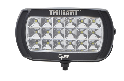 Trilliant® LED Wide Flood Work Light With Reflector. - 360