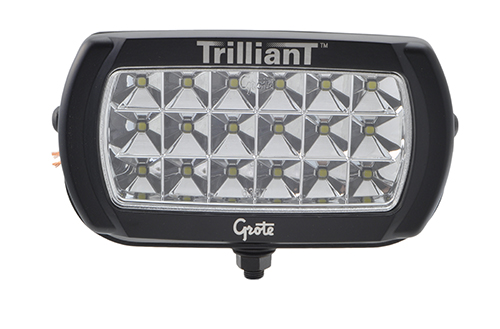 Trilliant® LED Work Light With Reflector. - 360