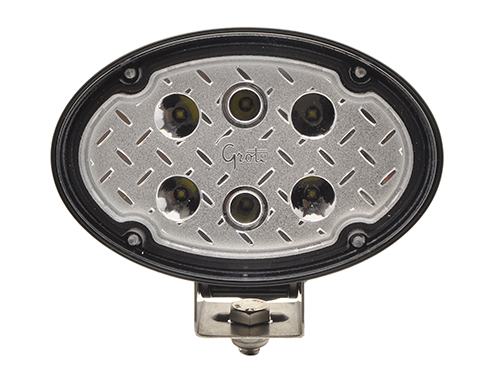 High Output Flood 1200 Lumen Trilliant® Oval LED Work Light - 360