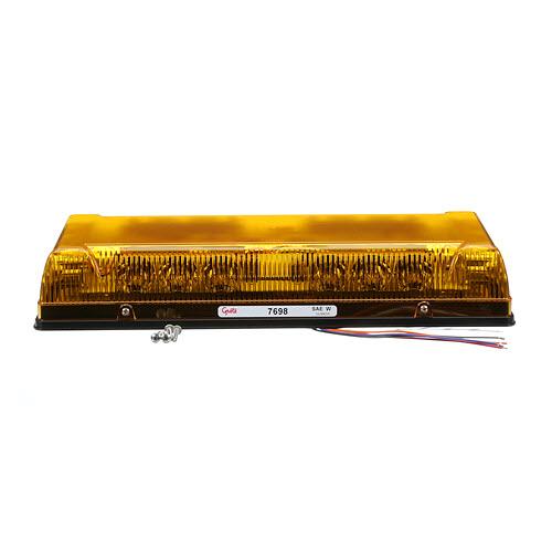 Low-Profile LED Mini Light bar, Permanent Mount - 360