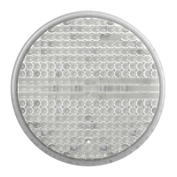 """Luz LED estroboscópica, 4"""", transparente - 360"""