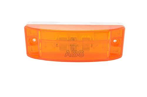 Sealed Turtleback® II Clearance Marker Light, ABS, Optic Lens, Yellow - 360