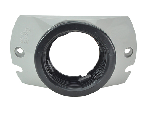 "Mounting Bracket With Grommet For 2 1/2"" Round Lights, Gray - 360"