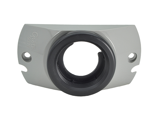 "Mounting Bracket With Grommet For 2"" Round Lights, Gray - 360"