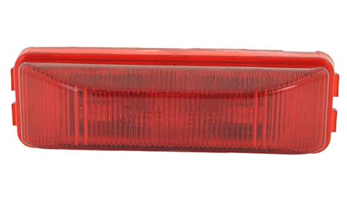 hi count 3 diode led clearance marker light red - 360