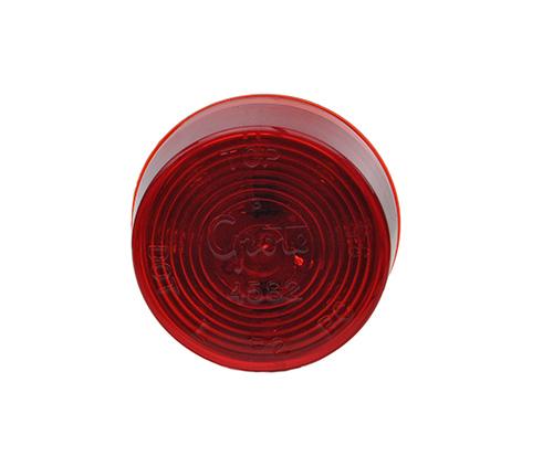 red hi count 9 led clarance marker light - 360