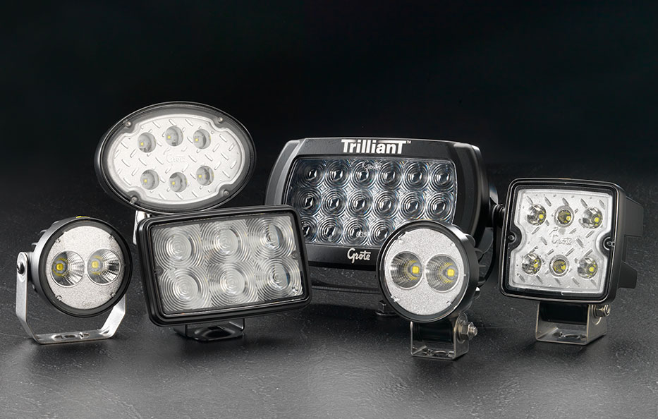 Trilliant LED Lights by Grote