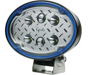 Oval LED Light