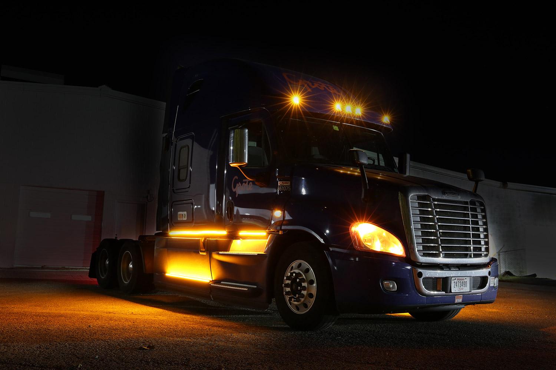 Semi truck underglow