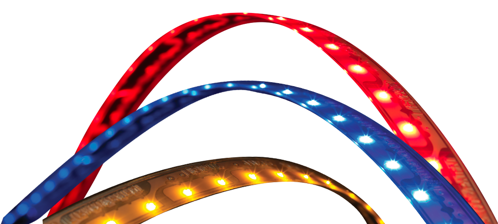 LightForm - Red, Blue and Yellow LED Light Strips