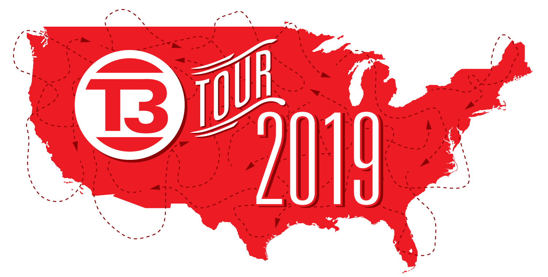 Logo del recorrido de T3 de Grote 2018