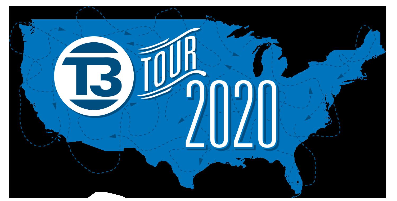 Logo del recorrido de T3 de Grote 2020