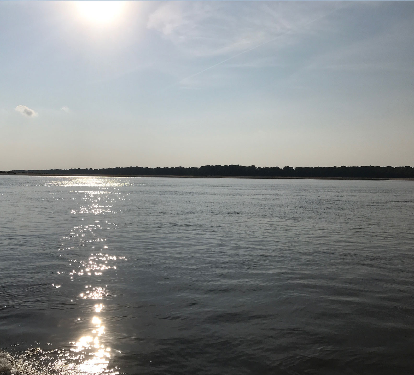 Photo of the Mississippi River along south Missouri