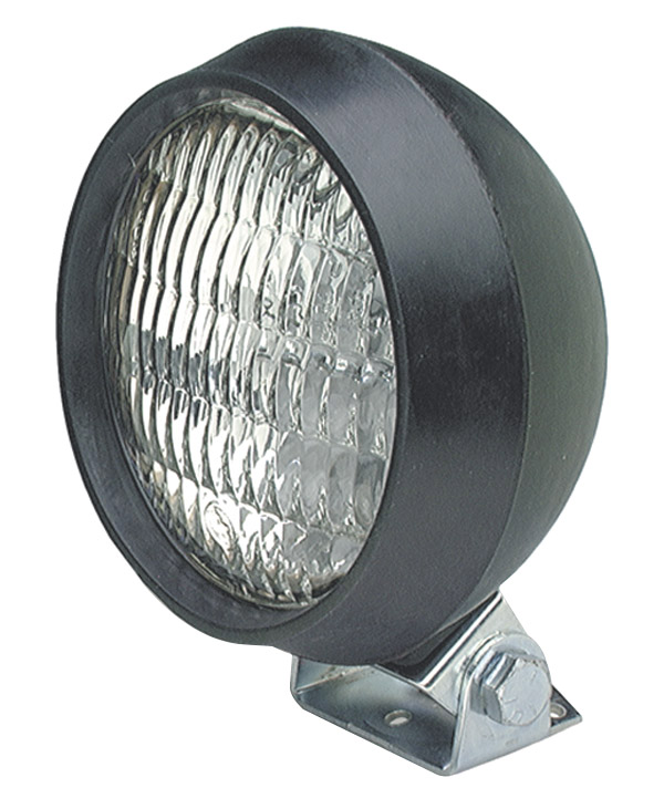 64991 – Par 36 Utility Light, Rubber Tractor, Halogen Work Light