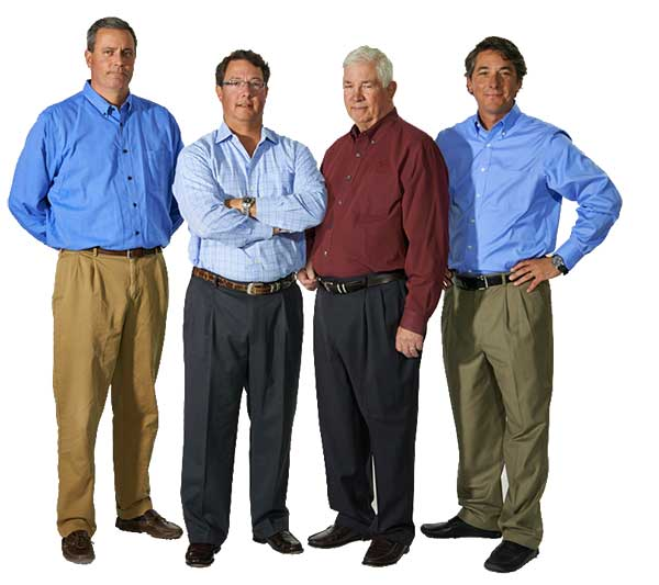 Mike Grote, Dominic Grote, Bill Grote and John Grote