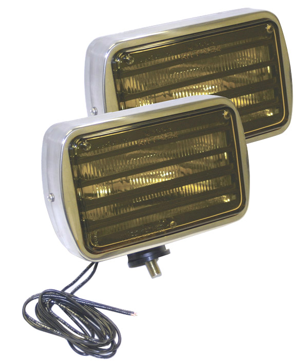 06013-4 – Per-Lux® 600 Series, All Weather Light, Swivel Mount, Pair Pack, Yellow