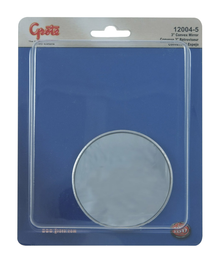 12004-5 – Stick-On Convex Mirror, 3″ Round, Retail Pack