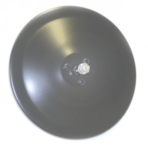 12052 – 6″ Convex Center-Mount Spot Mirror, Mirror Head Only, Black