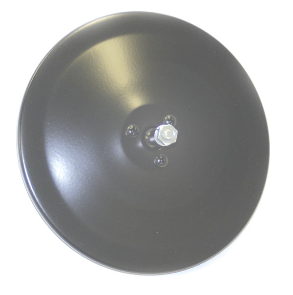 Grote Industries - 12052 – 6″ Convex Center-Mount Spot Mirror, Mirror Head Only, Black