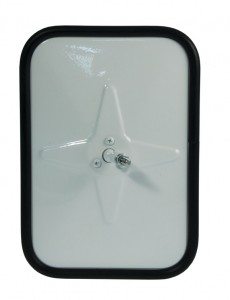 Outer Protective Bumper Mirror