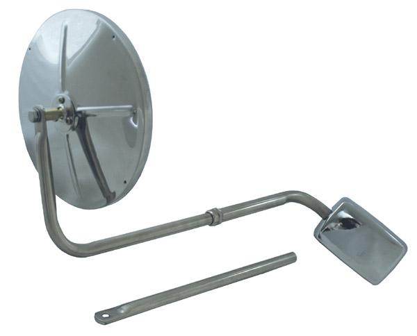 12153 – Hood-Mounted Mirror, Stainless steel