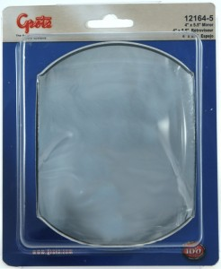 12164-5 – Stick-On Convex Mirror, 4″ x 5 1/2″ Rectangular, Retail Pack