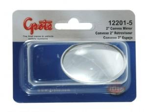 12201-5 – Stick-On Convex Mirror, 2″ Round, Retail Pack