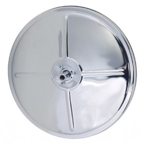 12983 – 8″ Round Convex Mirror With Center-Mount Ball-Stud, Chrome