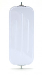 16091 – OEM-Style Flat Ribbed-Back West Coast Mirror, White