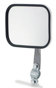 12122 – Rectangular Stack & Spot Mirror, Mirror Only, Black
